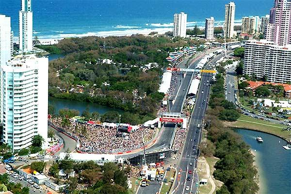 Indy Track in Surfers Paradise