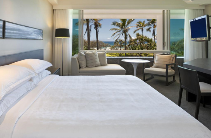 Sheraton Grand Mirage Bedroom