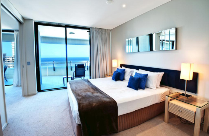 The Wave Resort Bedroom