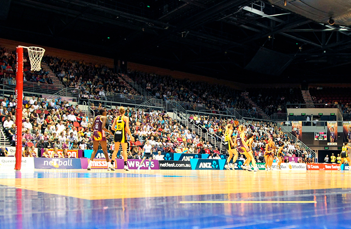 Netball at the Gold Coast Convention & Exhibition Centre