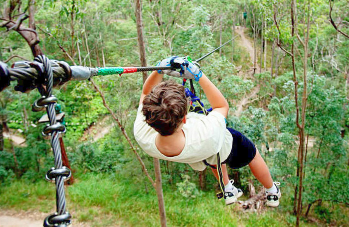 Cedar Creek Lodges High Ropes