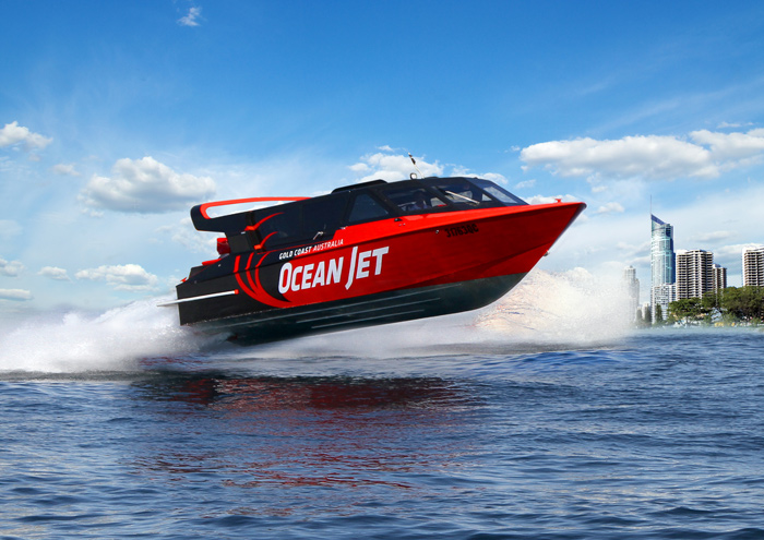 Ocean Jet Boat Thrill Ride