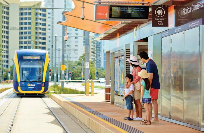 G:link Tram - Gold Coast Light Rail - Gold Coast Australia