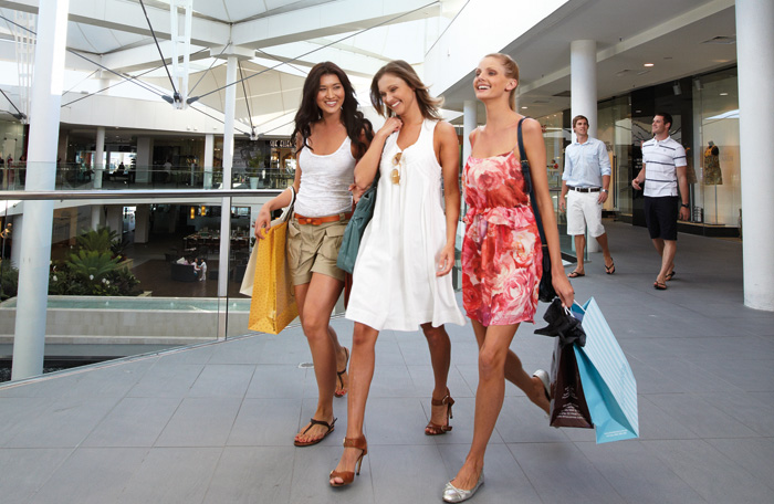 Shopping at Marina Mirage