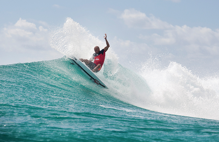 Quicksilver Pro surfing competition at Snapper Rocks