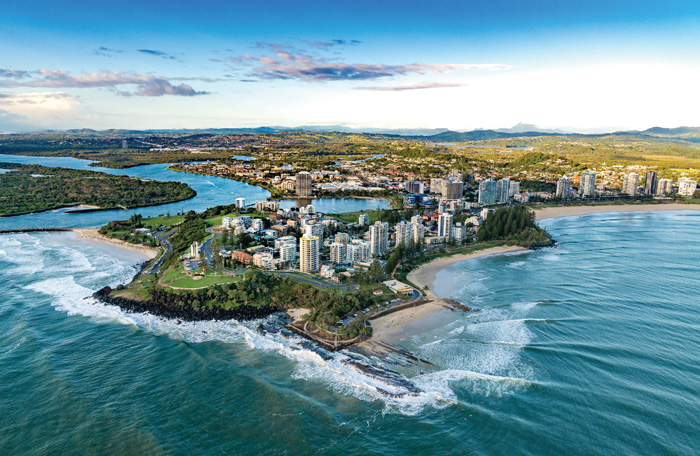 Snapper Rocks and Coolangatta