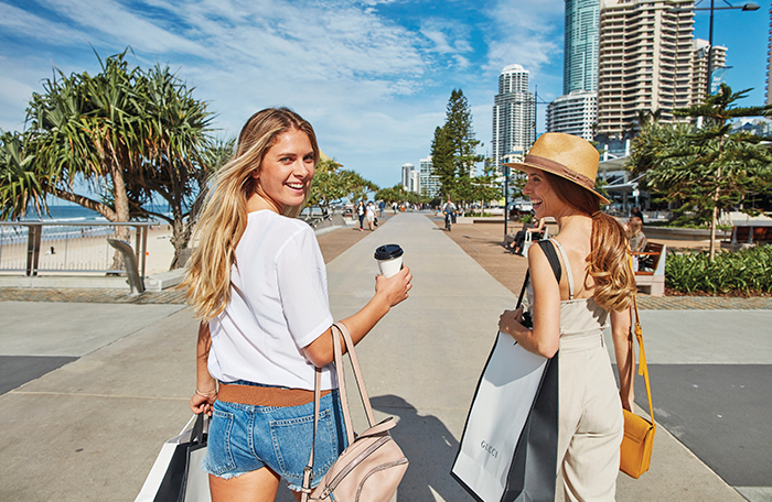 Shopping in Surfers Paradise