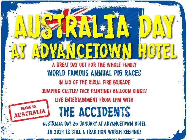 Australia Day 2014 at Advancetown Hotel