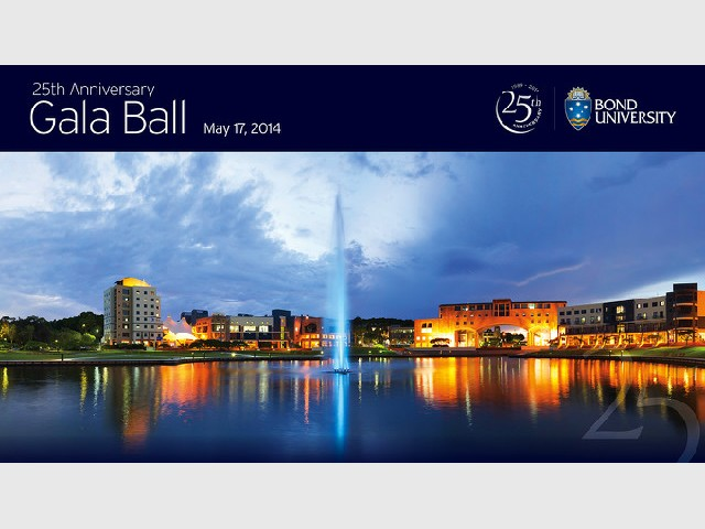 Bond University 25th Anniversary Gala Ball