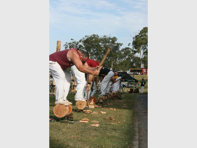 Come and Try Day! - Woodchopping and Cross Cut Sawing