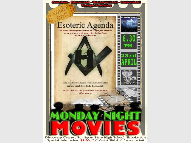 Esoteric Agenda - Monday Night Movie