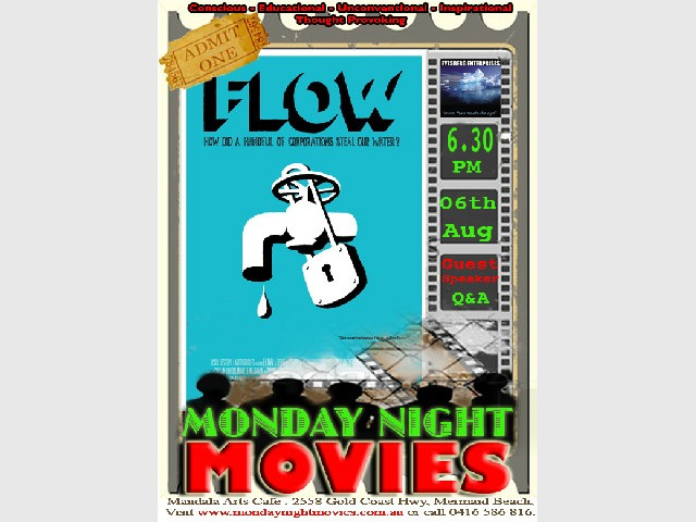 FLOW: For the Love of Water - Monday Night Movie