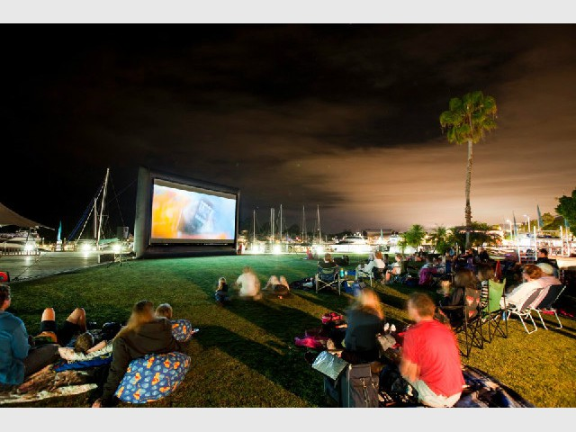FREE Outdoor Movies at Sanctuay Cove