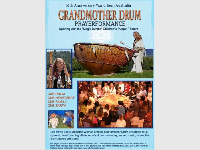 Grandmother Drum from Alaska - Prayerformance