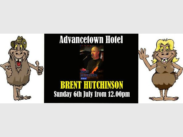 Live Entertainment with Brent Hutchinson