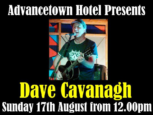 Live Entertainment with Dave Cavanagh