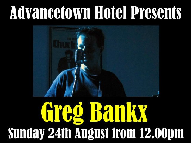 Live Entertainment with Greg Bankx