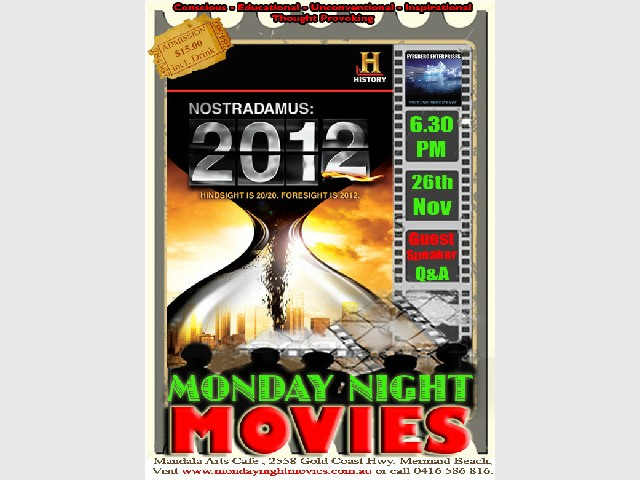 Nostradamus 2012 - Monday Night Movie