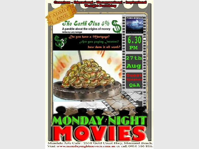 The Earth Plus 5% - Monday Night Movie