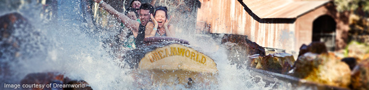 Log Ride at Dreamworld