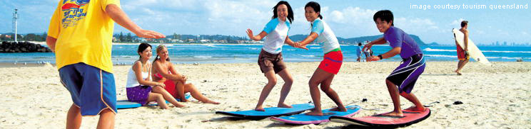 Gold Coast Surfing - Surfing Lessons, Board Hire & Places To Go